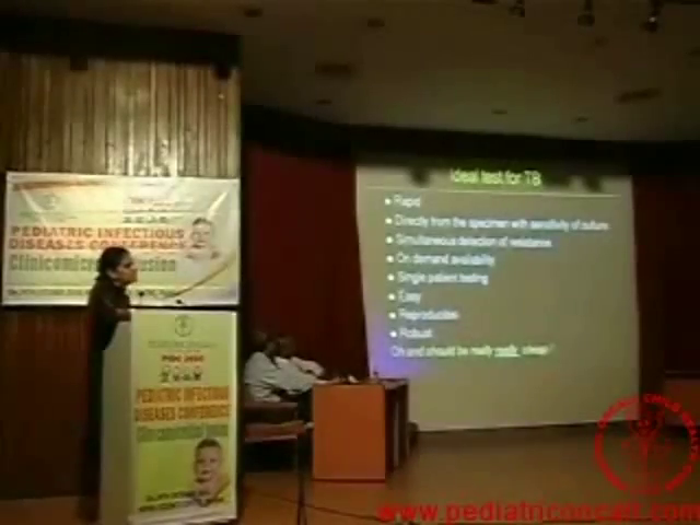 PIDC2010 - Newer diagnostic tools for TB, Malaria, Dengue, Typhoid - Part 2 -Dr. Camilla Rodrigues