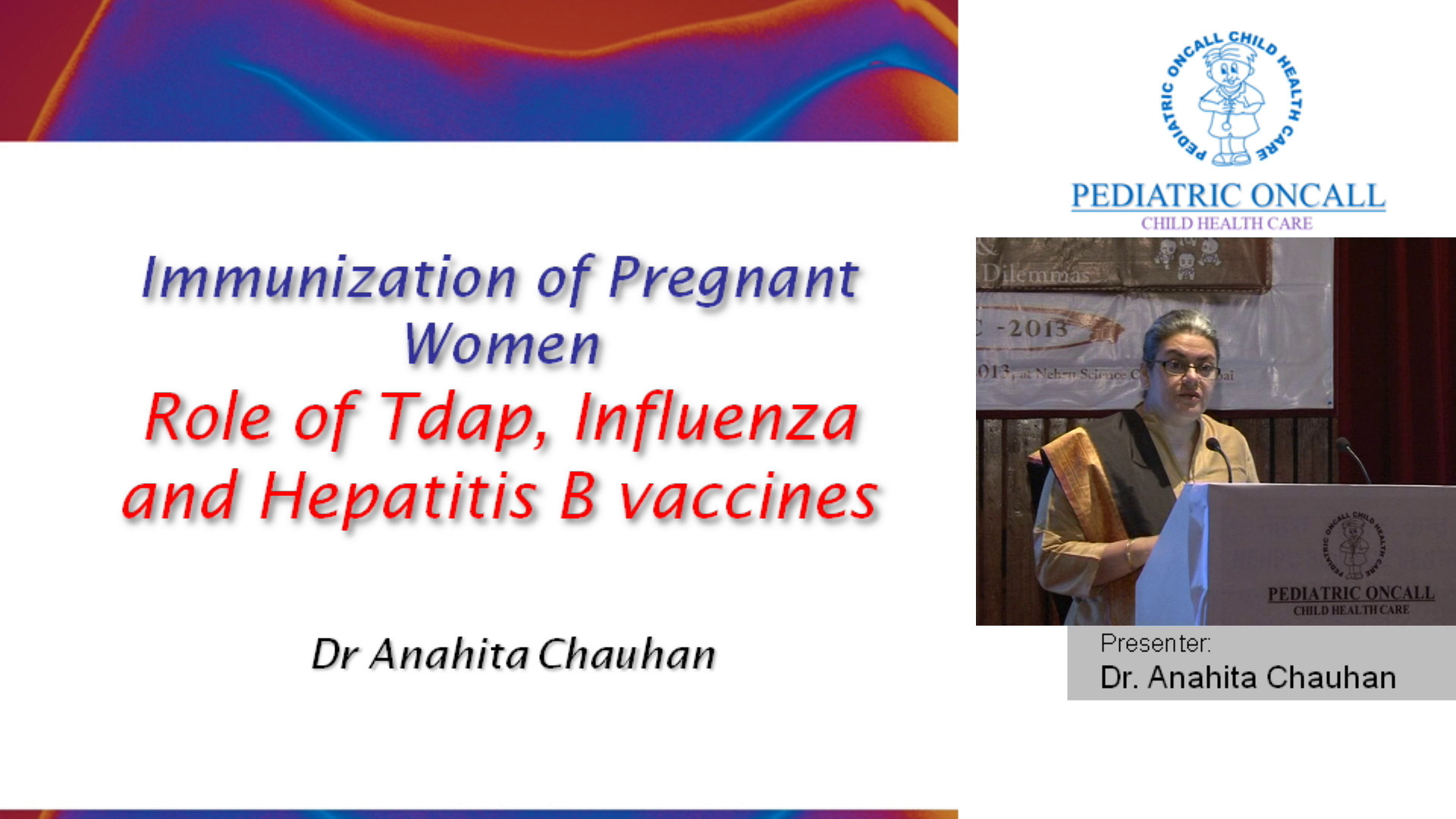 Immunization of Pregnant Women