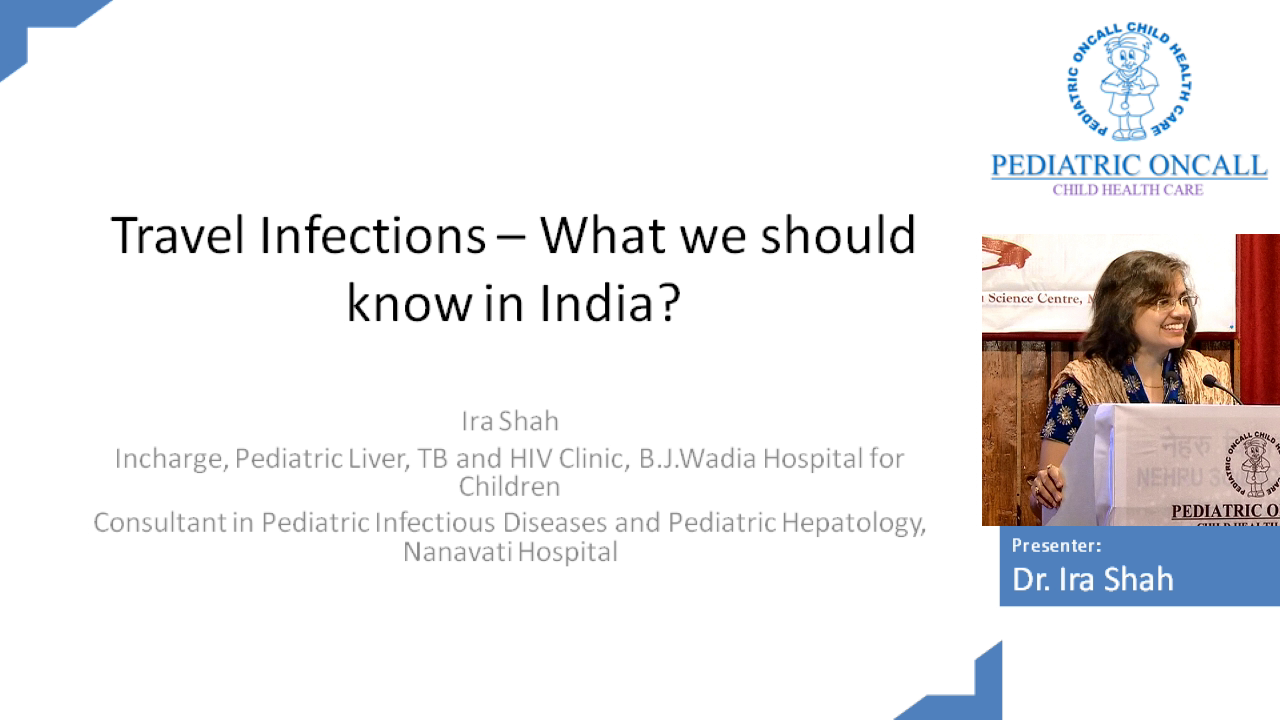 Travel Infections - What we should know in India