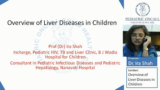 Liver Diseases in Children (Part 3)